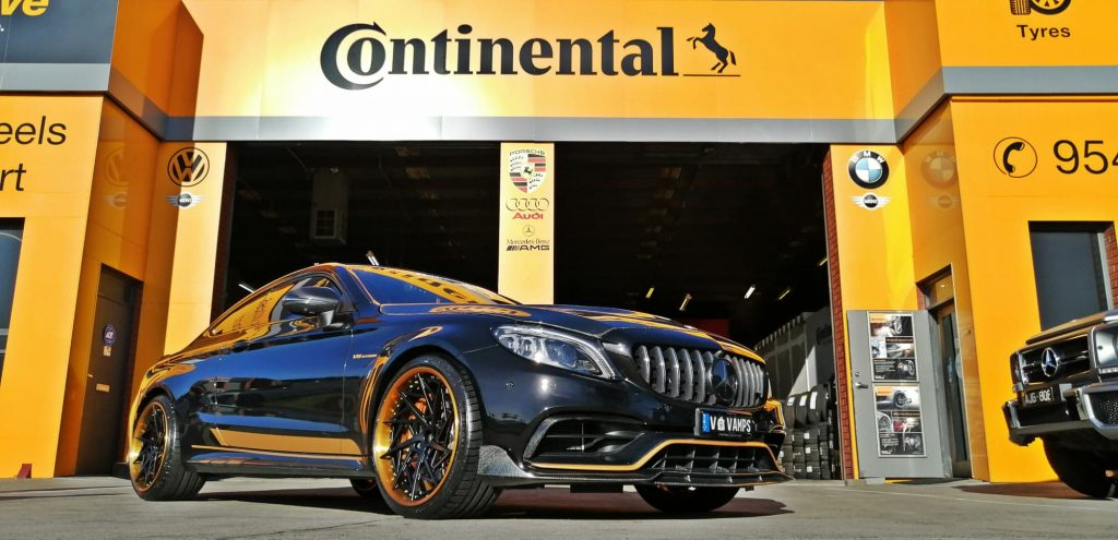 Luxury wheels and Tyres for Mercedes